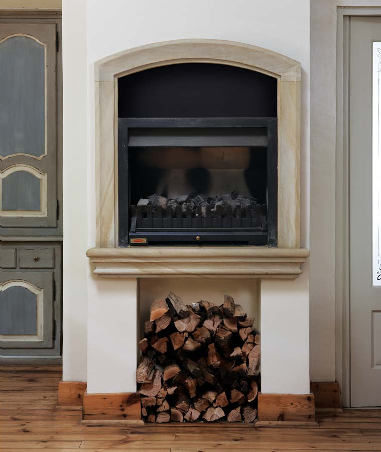Marc Goethals Interiors | Showcase | Fireplace Surrounds 1
